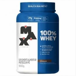 100% WHEY CHOCOLATE - MAX TITANIUM