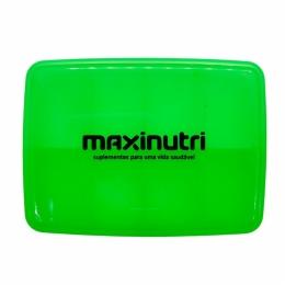 Porta Cápsula Semanal - Verde - Maxinutri